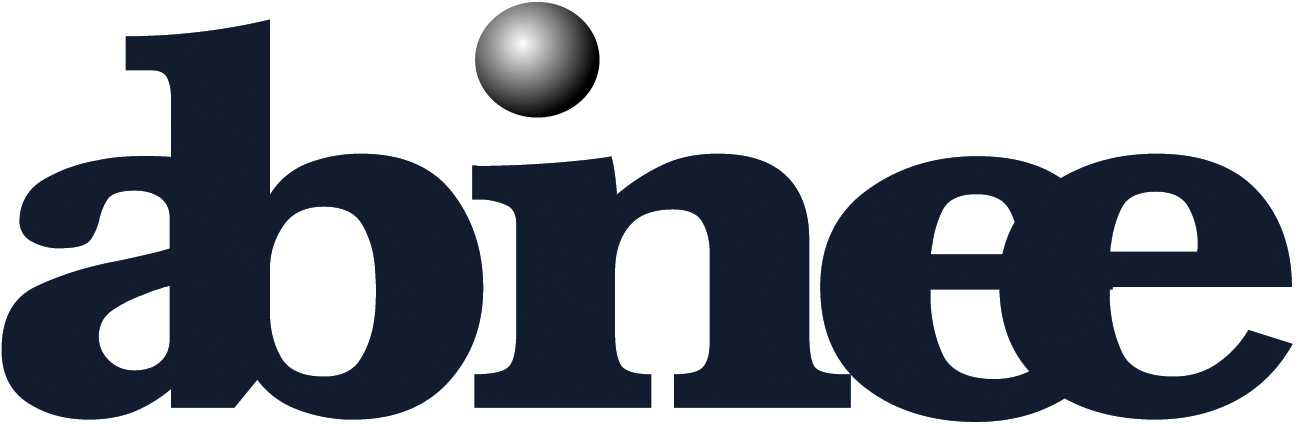 Logo Abinee - pantone 5395 pingo degradê